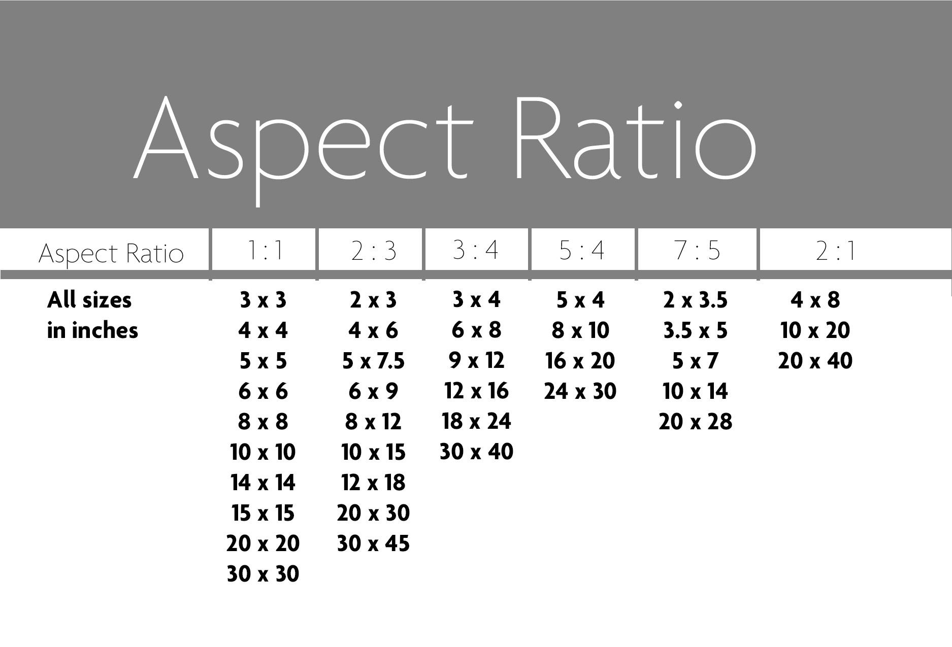 Aspect Ratio Rgbdigital Com Au