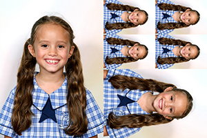 Package of school photographs